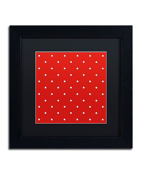 """Trademark Global Color Bakery 'Aria Iii' Matted Framed Art, 11"""" x 11"""""""