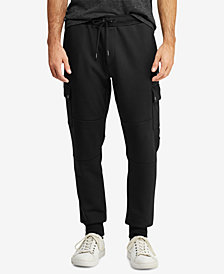 Polo Ralph Lauren Men's Big & Tall Double-Knit Cargo Joggers