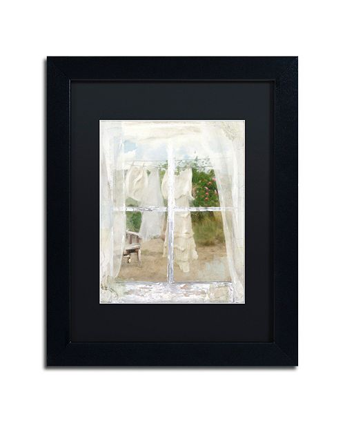 "Trademark Global Color Bakery 'Summer Me Iv' Matted Framed Art, 11"" x 14"""