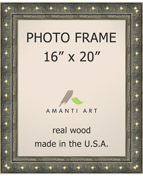 Amanti Art Alexandria White Wash 18X22 Opening Wall Picture Photo ...