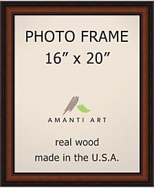 "Amanti Art Bella Noce Walnut 16"" X 20"" Opening Wall Picture Photo Frame"