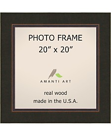 """Amanti Art Milano Bronze 20"""" X 20"""" Opening Wall Picture Photo Frame"""