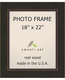 """Amanti Art Milano Bronze 18"""" X 22"""" Opening Wall Picture Photo Frame"""