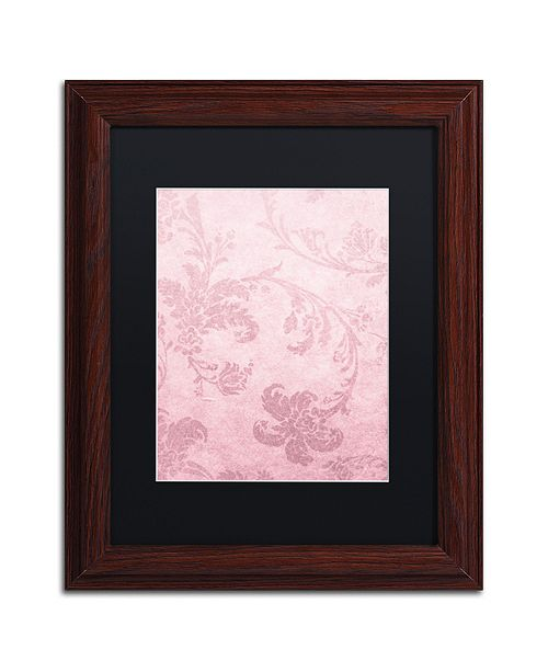 "Trademark Global Color Bakery 'Hyacinth Ii' Matted Framed Art, 11"" x 14"""
