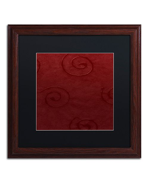"""Trademark Global Color Bakery 'Sweet Holiday Iv' Matted Framed Art, 16"""" x 16"""""""
