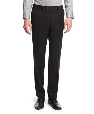Bar III Black Solid Slim-Fit Pants