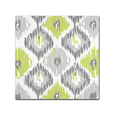 Color Bakery 'Calyx Ikat' Canvas Art