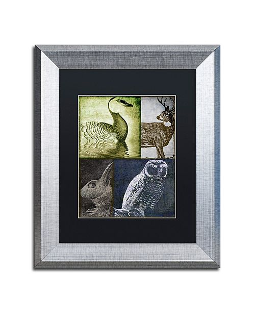 "Trademark Global Color Bakery 'Hunting Season Vii' Matted Framed Art, 11"" x 14"""