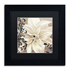 Color Bakery 'Winter White Ii' Matted Framed Art