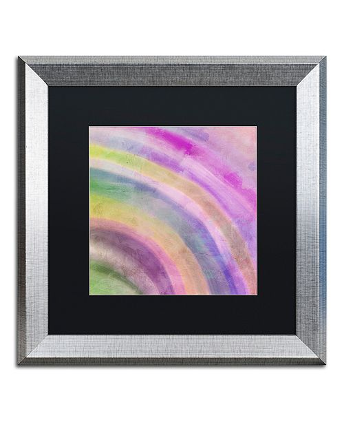 "Trademark Global Color Bakery 'Hot' Matted Framed Art, 16"" x 16"""