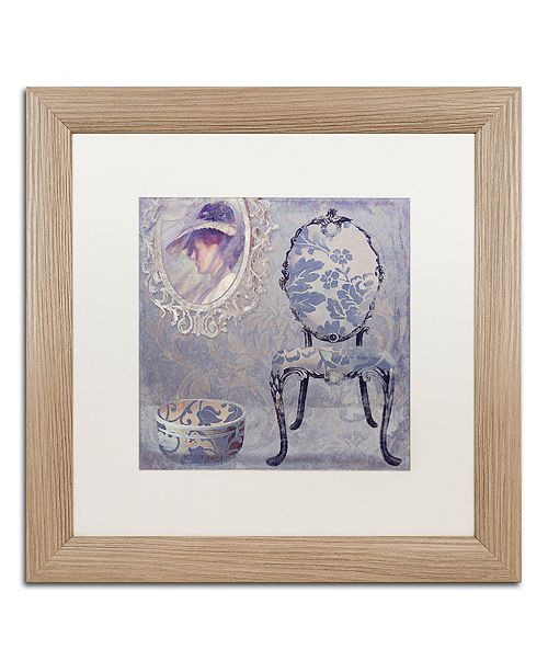"Trademark Global Color Bakery 'Salon I' Matted Framed Art, 16"" x 16"""