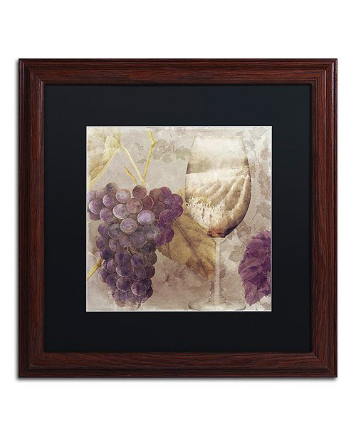 "Trademark Global Color Bakery 'Tuscany Dreams I' Matted Framed Art, 16"" x 16"""