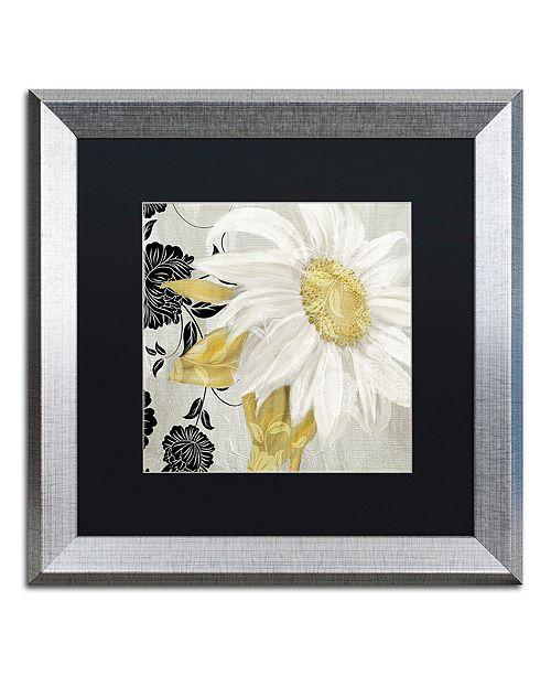"Trademark Global Color Bakery 'Sunroom Ii' Matted Framed Art, 16"" x 16"""