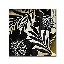 Color Bakery 'Floral Jungle Lines I' Canvas Art