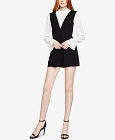 BCBGeneration A-Line Woven Romper