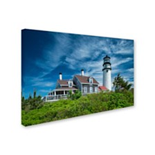 "Michael Blanchette Photography 'Cape Cod Light' Canvas Art, 12"" x 19"""