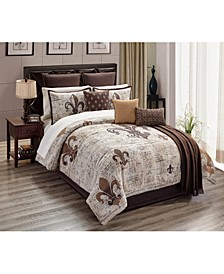 Baskin 14-Pc. King Comforter Set, Created for Macy's
