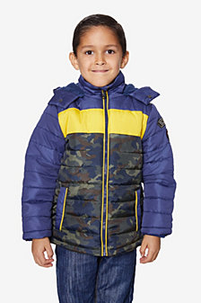 Buffalo Boys Tri Color Puffer