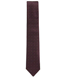 BOSS Men's Patterned Silk Tie
