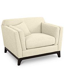"Cistella 44"" Fabric Armchair"