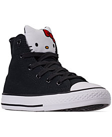 Converse Little Girls' Chuck Taylor All Star High Top Casual Sneakers from Finish Line