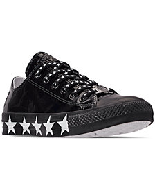 Converse Women's Chuck Taylor All Star x Miley Cyrus Ox Casual Sneakers from Finish Line