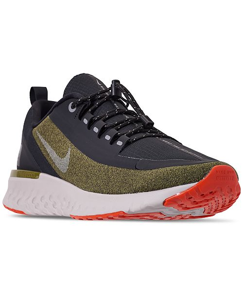 san francisco 71cf8 faa80 ... Nike Men s Odyssey React Shield Running Sneakers from Finish ...