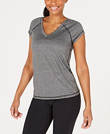 Striped Rapid Dry Performance T-shirt, Created for Macy's