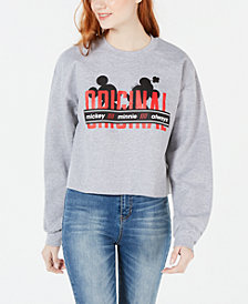Disney by Hybrid Juniors' Originals Cropped Graphic Sweatshirt