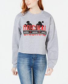 Disney by Hybrid Juniors' Originals Cropped Graphic Sweatshirt