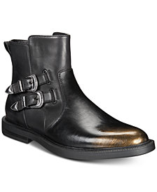 I.N.C. Men's Outlaw Buckle Boots, Created for Macy's