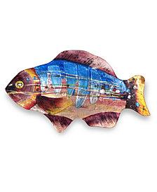 "18"" Blue Gills Fish Plate"