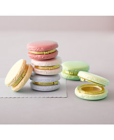 Set Of 12 Macaron Limoges Trinket Boxes In Display Box Includes 5 Colors: Rose, Light Pink, Peach, Light Lavender, Pistachio