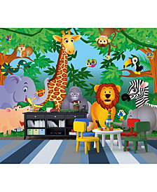 In The Jungle Wall Mural