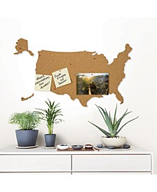 Usa Cork Map Pinboard