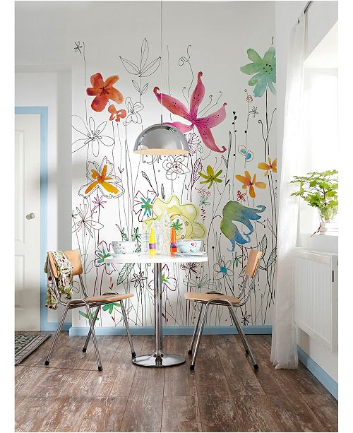 Brewster Home Fashions Joli Wall Mural