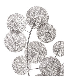 Multipetals Wall Décor Silver