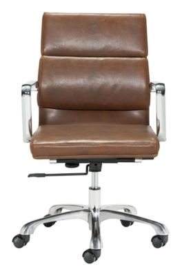 IthacaOfficeChairVintageBrown
