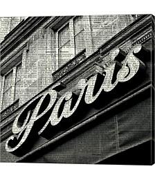 Newsprint Paris by Marc Olivier