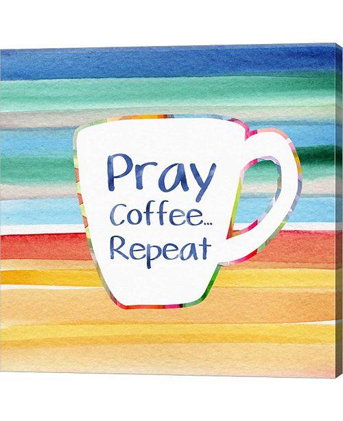 Metaverse Pray, Coffee, R by Linda Woods