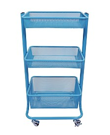 Clickhere2shop Home Storage Kitchen Utility Cart
