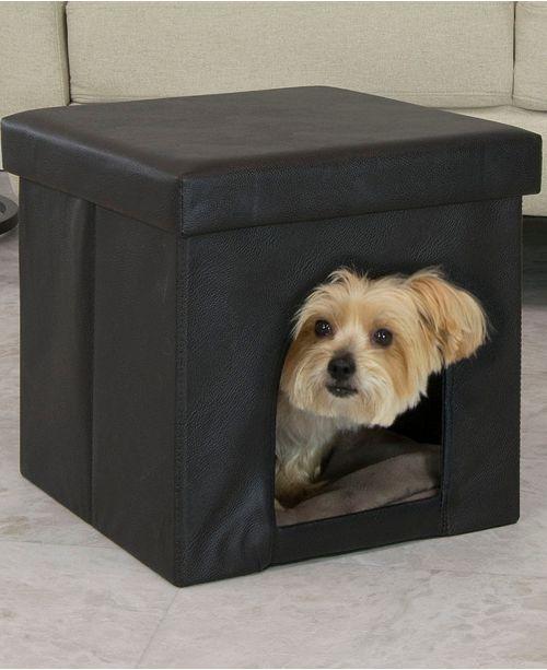 Phenomenal Offex Collapsible Pet Bed And Ottoman Inzonedesignstudio Interior Chair Design Inzonedesignstudiocom