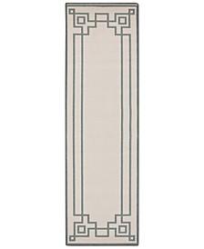 """Alfresco ALF-9629 Sage 2'3"""" x 7'9"""" Runner Area Rug, Indoor/Outdoor"""