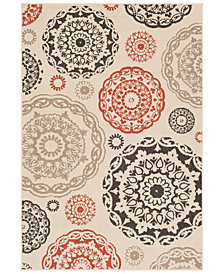 "Surya Alfresco ALF-9667 Cream 3' x 5'6"" Area Rug"