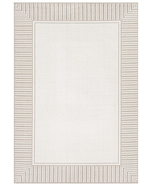 "Surya Alfresco ALF-9681 Taupe 8'9"" x 12'9"" Area Rug, Indoor/Outdoor"