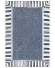 "Surya Alfresco ALF-9682 Charcoal 3' x 5'6"" Area Rug"