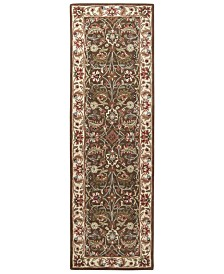 "Surya Caesar CAE-1003 Dark Brown 2'6"" x 8' Runner Area Rug"