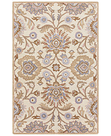 "Surya Caesar CAE-1109 Cream 18"" Square Swatch"