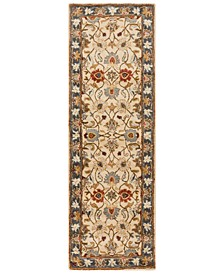 "Caesar CAE-1125 Bright Yellow 2'6"" x 8' Runner Area Rug"