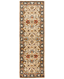 Surya Caesar CAE-1125 Bright Yellow 3' x 12' Runner Area Rug